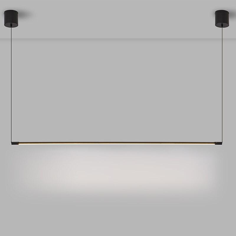 Moderne LED Anhänger Leuchtet Einfache Ausgesetzt Beleuchtung Nordic Loft Dimmen hause Anhänger Lampe Schlafzimmer Hängen Lampe Küche Glanz