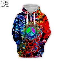 New groovy Hippie Musician colorful peace print 3D Hoodie Men Women Fashion Hooded trippy Sweatshirt Long Sleeve Pullover