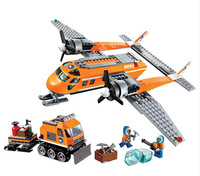10441 391pcs Arctic Supply Plane Model Building Blocks City Series Educational Toys Hobbies