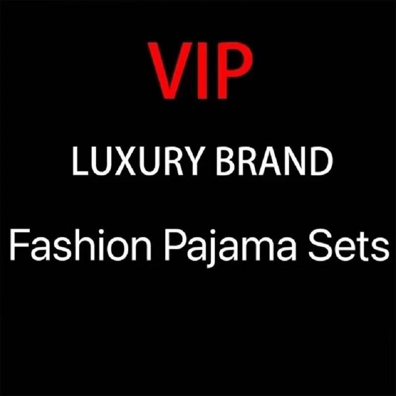 151Pajama Sets For Women High End Fashion Brand Designer Luxury Classic Pijamas Girl's Silk Sleepwear Long Sleeve 2 Pcs