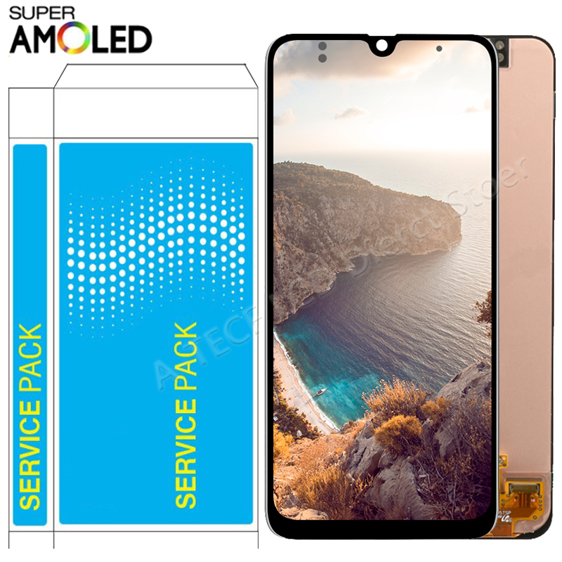 Original AMOLED <font><b>A30</b></font> <font><b>LCD</b></font> For <font><b>Samsung</b></font> <font><b>Galaxy</b></font> <font><b>A30</b></font> <font><b>LCD</b></font> Display with frame Touch Screen Assembly <font><b>A30</b></font> A305/DS A305F A305FD A305A <font><b>LCD</b></font> image