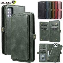 Luxury Flip Leather Wallet Case For Samsung Galaxy A21S A11 A21 A31 A41 EU A51 A71 A81 A91 A10 A20 A30 A40 A50 A70 S Phone Cover