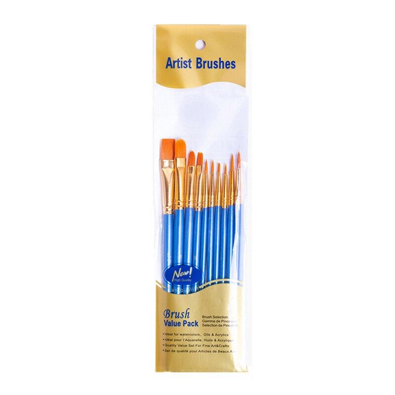 Набор кистей для рисования BOMEIJIA, 10 шт./упак., акриловая акварель маслом для художника, профессиональные наборы для рисования 6