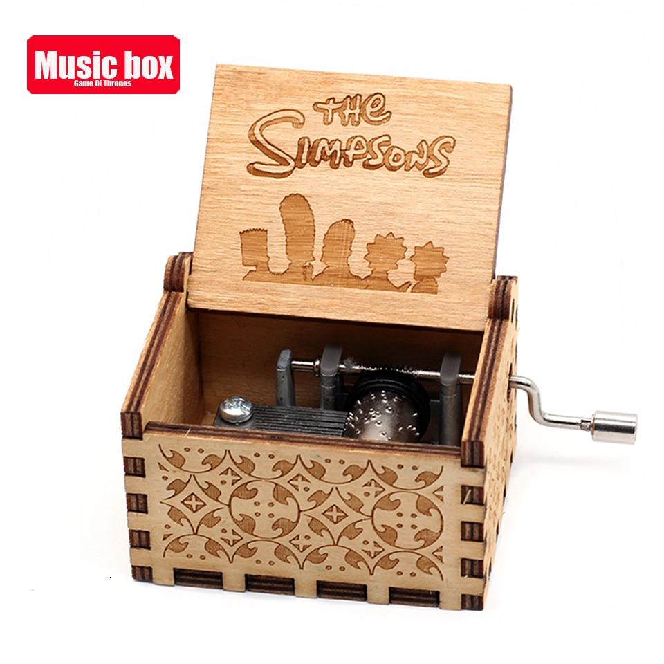 Free shipping Star Wars Imagine John Music Box Simpson Queen Music Box Music Theme Caixa De Musica A Birthday Present