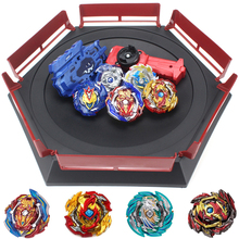 TAKARA TOMY Combination Beyblade Burst Set Toys Beyblades Arena Bayblade Metal Fusion 4D with Launcher Spinning Top Toys B150  - buy with discount