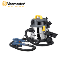 Vacmaster Industrial Vacuum Cleaner 1600W Powerful Wet Dry Vacuum Cleaner for Workshop Twin Fan Motor Stainless Steel Tank
