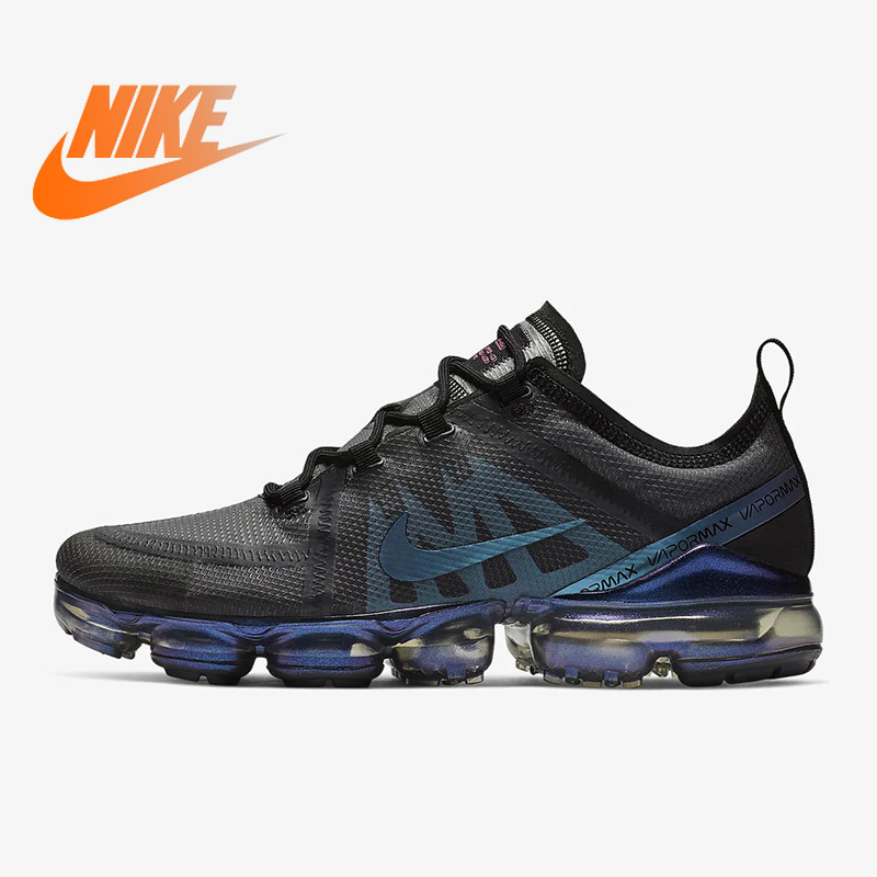 Original Authentic Nike Air VaporMax 2019 Mens Running Shoes Breathable Outdoor Sneakers Athletic Designer Footwear AR6631-001