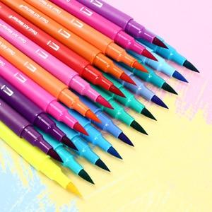 Image 3 - CHENYU 100 สีคู่แปรง Art Markers ปากกา Fine TIP และแปรงวาดภาพวาดสีน้ำสำหรับระบายสีมังงะตัวอักษร