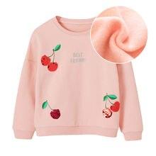 Новые детские весенние толстовки hh для девочек утепленная одежда