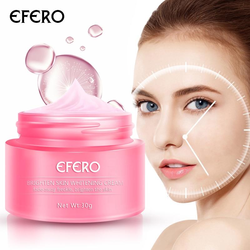 EFERO Whitening Face Cream Freckles Cream Pigmentation Moisturizer Skin Whitening Cream For Dark Spot Remover Whitening Cream
