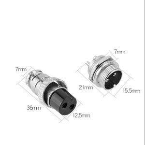 Image 2 - 20set/lot GX16 2 GX16 3 GX16 4 GX16 5 GX16 6 GX16 7 GX16 8 GX16 9 GX16 10 core aviation connector / plug + socket