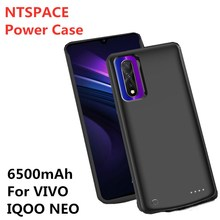 6500mAh Portable Battery Case External Mobile Power Case Charging Box Power Charging Source Box for VIVO IQOO NEO