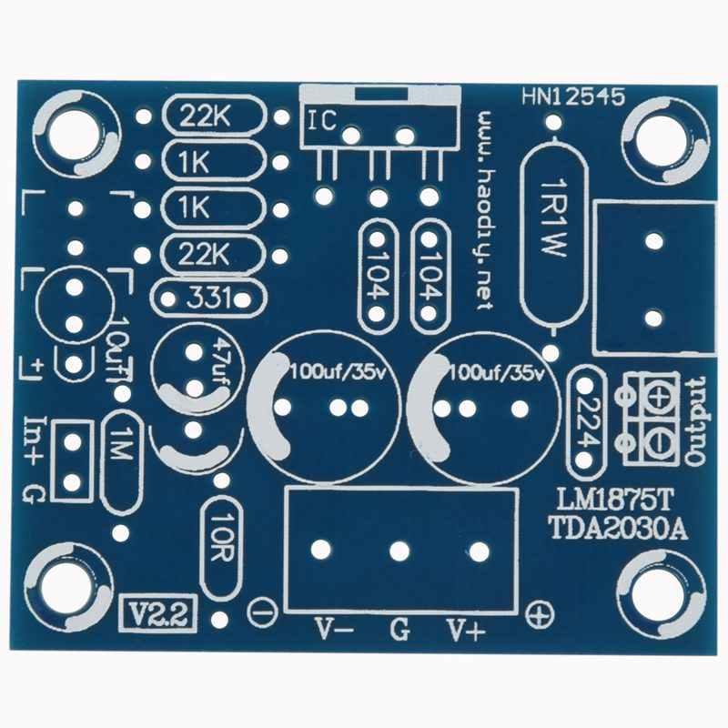 20 w lm1875t 모노 채널 스테레오 오디오 hifi 증폭기 보드 모듈 diy 키트