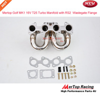 Mertop Race 304 Stainless steel MK1 16v 1.8L and 2L T25 Turbo exhaust Manifold