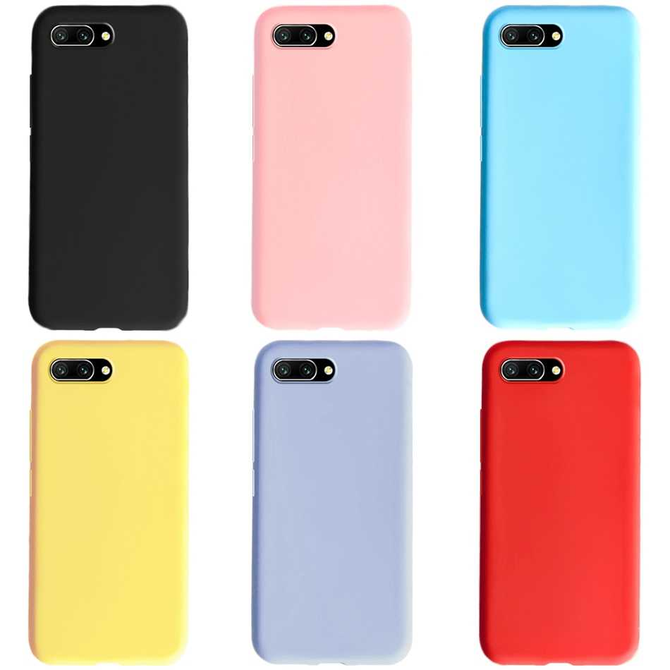 Siliconen Case Voor Huawei Honor 10 Case Honor 10 Cover 5.84 Candy Slanke Zachte TPU Back Cover Coque Voor Huawei honor 10 COL L29