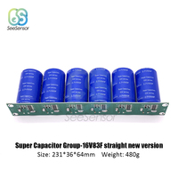 6Pcs/Set New Version Farad Capacitor 2.7V 500F 231*36*64mm Super Capacitors Automotive Capacitor with Protection Board|Capacitance Meters| |  -