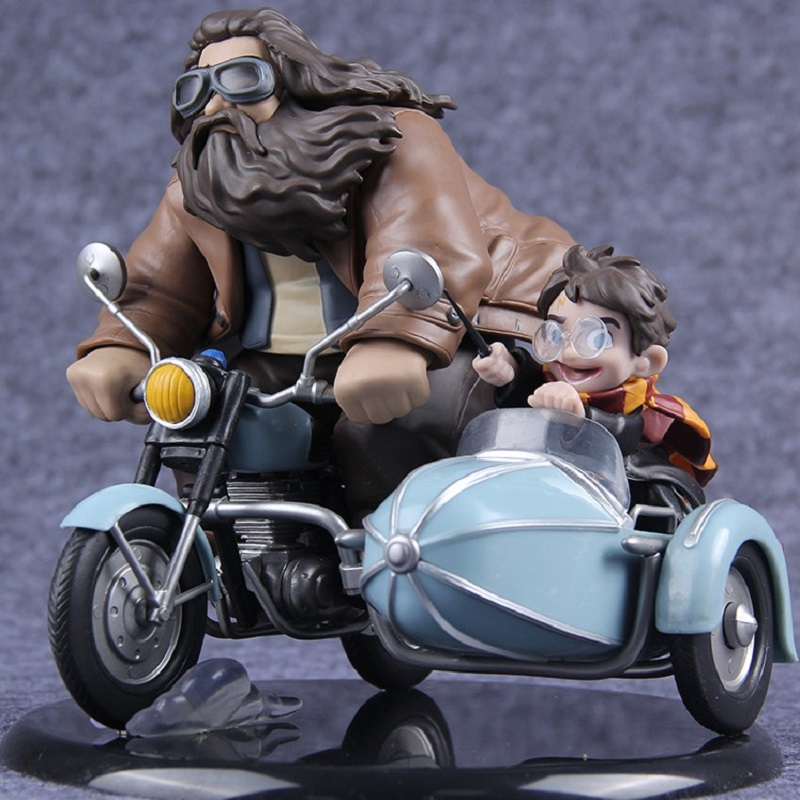 Harry & Rubeus Hagrid Vinyl Doll Action Figure Figurine Collection Model Toys Gift B19