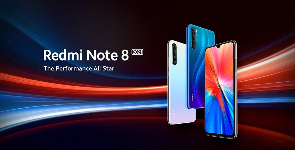 Redmi Note 8 2021 купить на АлиЭкспресс со скидкой