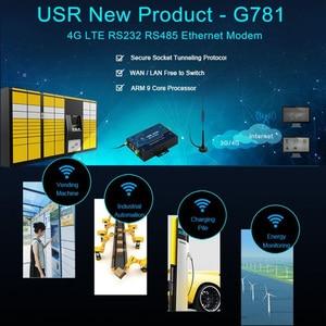 Image 5 - USR G781 Industrielle transparente daten übertragung RS232/RS485 Seriell zu 4G LTE Modem mit Ethernet Port