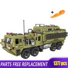 XINGBAO 06014 Genuine 1377PCS Military Series The Scorpion Heavy Truck Set Building Blocks Bricks Toys Children Christmas Gifts цена