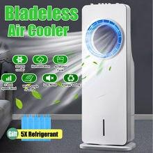 2020 bezłopatkowy wentylator chłodnicy wody chłodzącej zdalny zegar sterujący cyrkulacja powietrza Purifing elektryczny klimatyzator + 5 czynnik chłodniczy