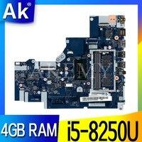 Für Lenovo Ideapad 320 15IKB Laptop Motherboard Mit I5 8250U CPU 4GB RAM DDR4 5B20Q13067 NM B451 100% Geprüft Schnelles Schiff-in Motherboards aus Computer und Büro bei