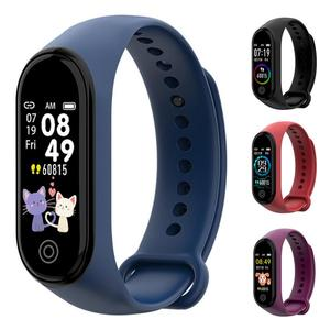 RD50/M4 Color LCD Smart Watch Band Sport Activity Tracker Fitness Waterproof Watch Band For Kids Adult Android iOS