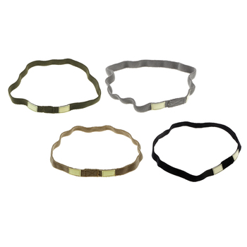 Nylon Helmet Band with Luminous Cat Eyes Strap For M88 MICH Military Helmet image