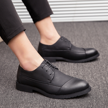 Zapatos Oxford de cuero para Hombre, calzado informal a la moda para...