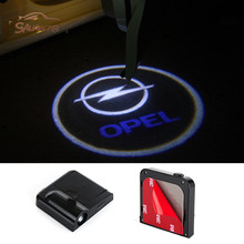 2 LED 3D Door Car Laser Logo Projector Light For Opel Astra H G J Corsa D C B Zafira Vectra C Mokka Meriva Omega Vivaro Insignia