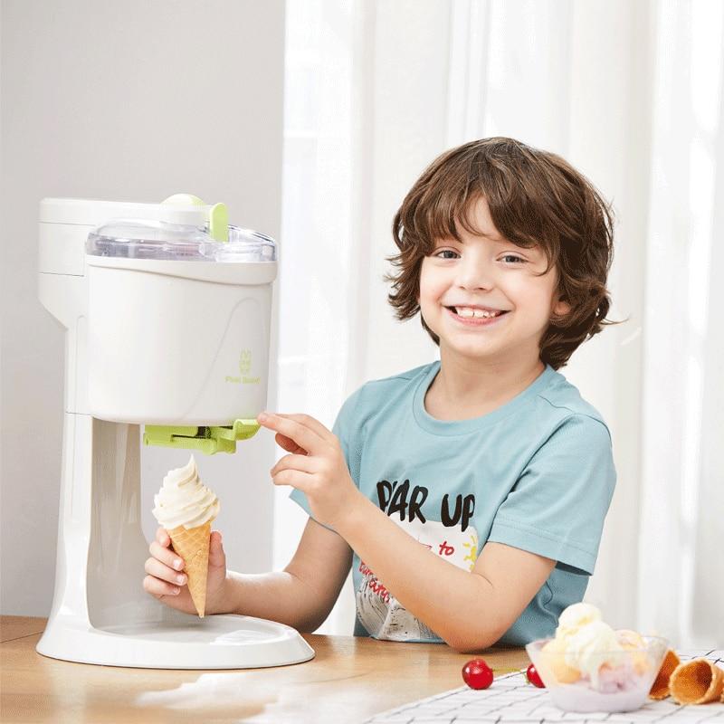Ice Cream Machine Fully Automatic Electric DIY Kitchen Mini Fruit Ice Cream Maker