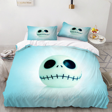 The Nightmare Before Christmas Bedding Set 3 Piece Cover Set Duvet Cover Bedding Luxury Bed Quilt Cover Kids Bed Cover Set nightmare before christmas 4pcs bedding set duvet cover bedspread pillowcases