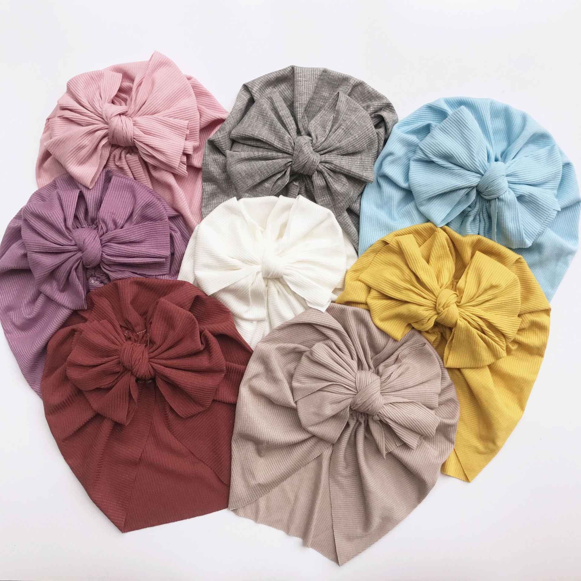 Lovely Flower Baby Hat Soft Cotton Baby Girl Hat Turban Infant Toddler Newborn Baby Cap Bonnet Headwraps Kids Hat Beanie