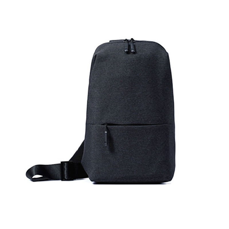 Mi Multifunction Crossbody Bag Sling Bag Outdoor Waterproof Motorcycle Shoulder Messenger Bag Chest Pack 4L Polyester Fabric