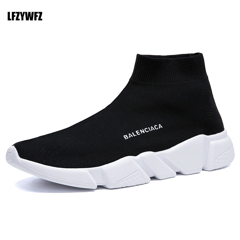 Sports-Shoes Lightweight Breathable High And Summer Pu Men's Student Popular