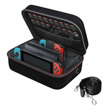 Carrying Storage Organizer High Capacity Hard Protective Travel Bag for Nintendo Switch Console Pro Controller&Accessories