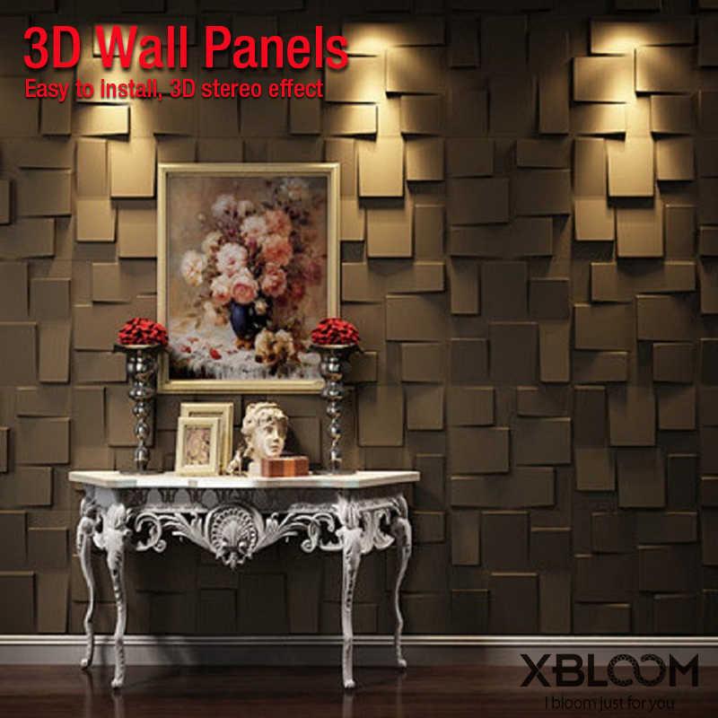 50 Cm 3D Ốp Bằng Nhựa Dẻo Cho 3D Ngói Tấm Khuôn Thạch Cao Đá Dán Tường Nghệ Thuật Treo Tường Trang Trí Nhựa ABS 3D Treo Tường miếng Dán Màn Hình Trần Bảng Điều Khiển