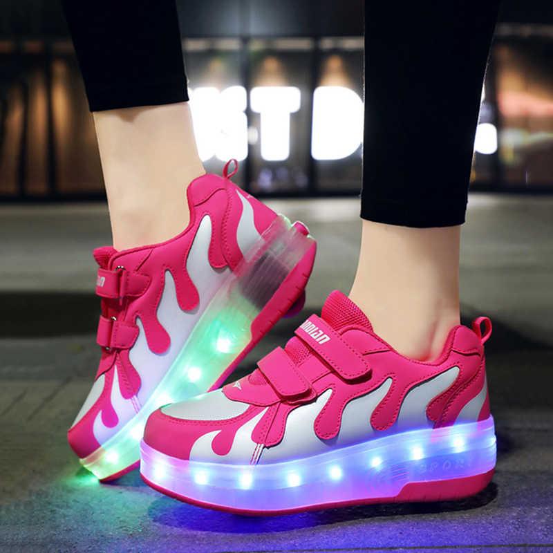Luminous Roller Skate Shoes|Sneakers