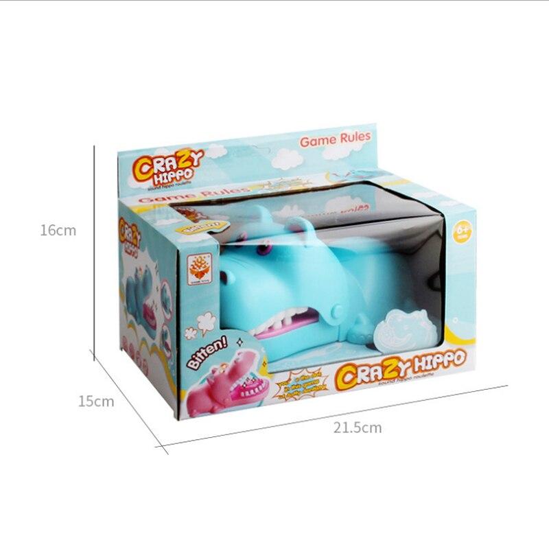 Hand Hippopotamus Lighting Strange New Trick Toys Parody novel Board Game Toys 4