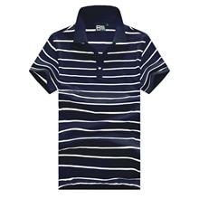 Polo-Shirt Plus-Size Short-Sleeve Classic Black White S-XXXXL Cotton Summer Brand Men