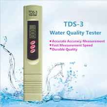 PPM Meter Digital LCD Tester TDS-3 Meter Measuring Water Tester Quality Purity Testing Tool Filter Testing Pen 0-9990 PPM by dhl 1pc uv400 tester lens tester ultraviolet tester lens testing equipment cp 13b wavelength can be adjusted