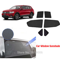 6 pces high end personalizado para volkswagen touran 2006 2015 tipo de cartão magnético cortina de carro sun sombra janela do carro estilo do carro|  -