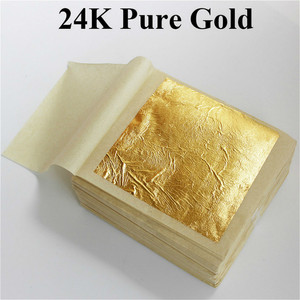 20pcs/lot Gold Foil Practical Pure Bronzing Furniture Line Wall Crafts Decoration Gold Glitter Paper Tissue Paper
