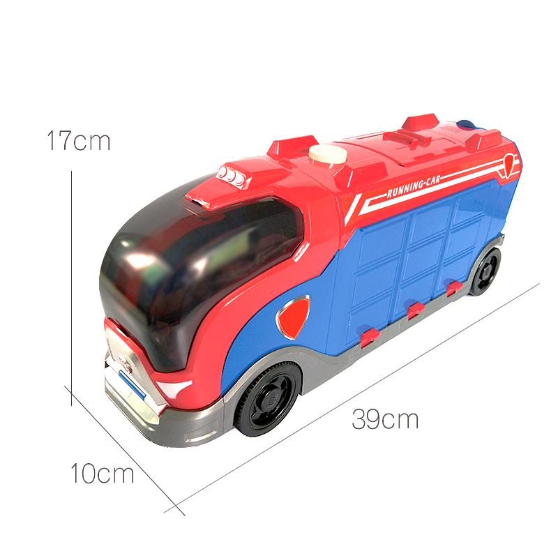 Paw Patrol Dog Bus Vehicle Plastic Toy Combination Patrulla Canina Toy With Voice Action Model Model Toy Children's Toy Gift