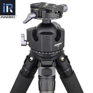 Image 5 - נמוך מרכז כובד Ballhead 54mm 44mm סופר גדול חלול כדור חצובה ראש כפול U ברמה גבוהה במיוחד נמוך פרופיל דעיכת הגדרה