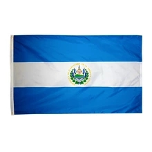 90*150cm El Salvador Flag For Decoration