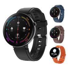DT18 Smart Watch Touch Screen Smart Watch Heart Rate Intelligent Fitness Sport Message Reminder Watch Sport Fashion Bracelet Men