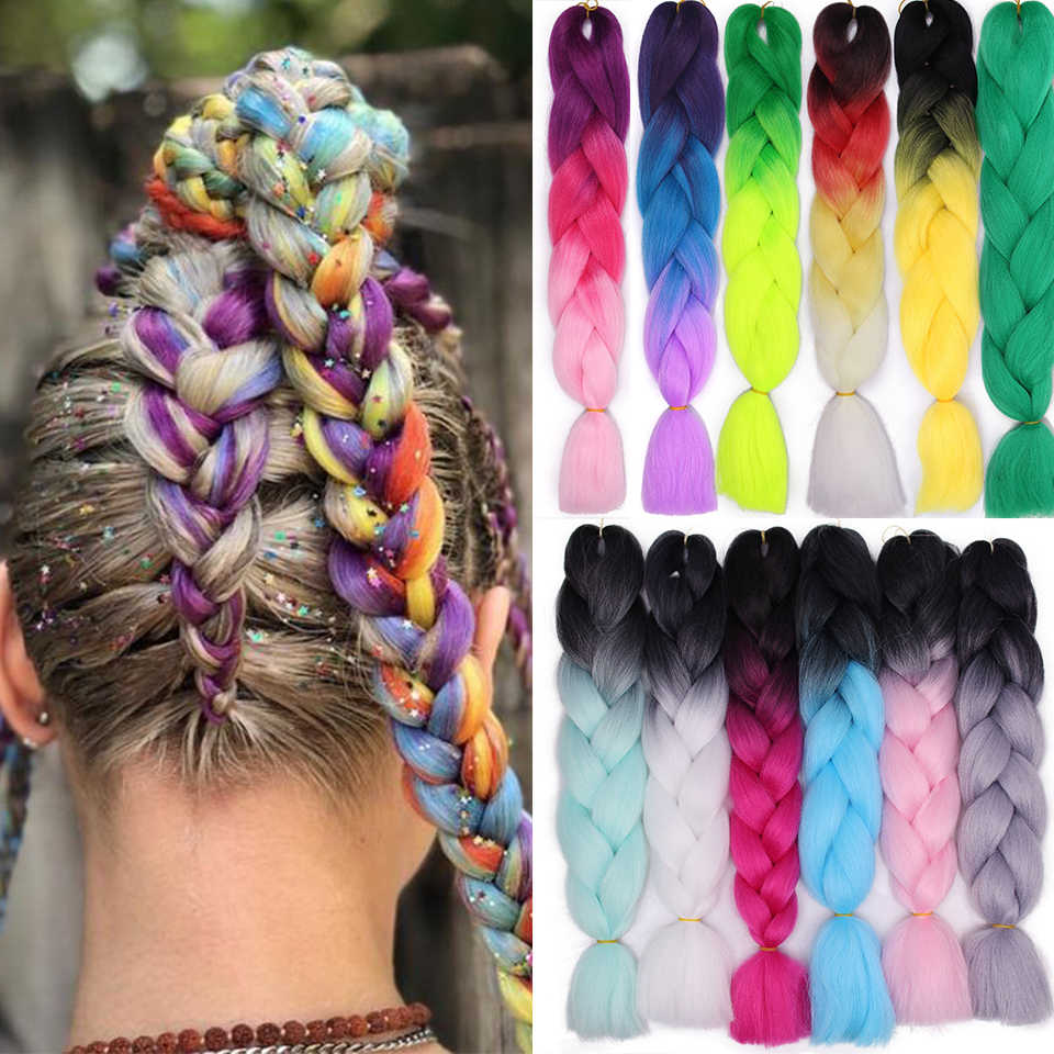 Remarkable Ombre Braid Extensions Pure Mix Color Jumbo Braids For Girls Women Schematic Wiring Diagrams Phreekkolirunnerswayorg