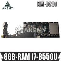 NM B291 Laptop motherboard for Lenovo YOGA 920 13IKB original mainboard 8GB RAM I7 8550U NM B291 mainboard