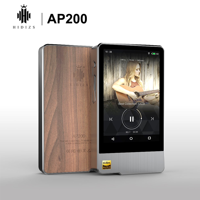 Hidizs AP200 Android Bluetooth 5.1 HiFi Music Player 64G build-in memory 3.54'IPS Double ES9118C DAC DSD PCM FLAC MP3 image